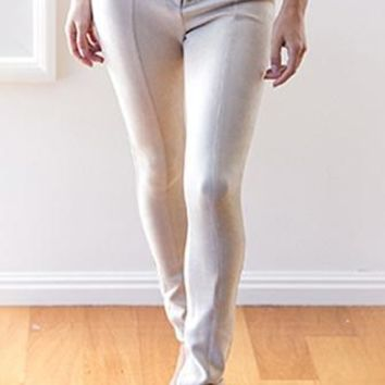 Get Right Tie Front Lace Up Faux Suede Skinny Pant - 3 Colors Available