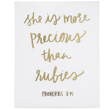 Proverbs 3:15 Wood Wall Decor | Hobby Lobby | 1297035