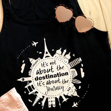 It's About The Journey Travel Tank