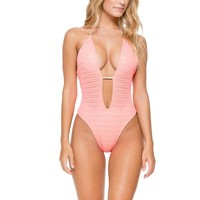 Take Me To Paradise - Crochet One Piece Swimsuit