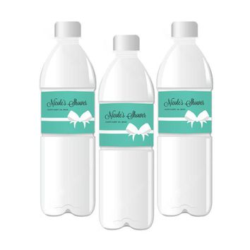 Bride & Co Personalized Water Bottle Labels
