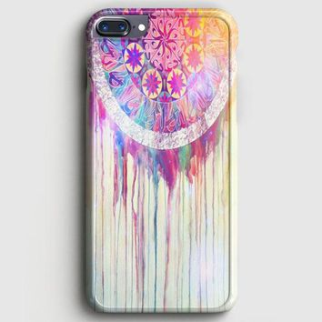 Bmth Sempiternal In Rainbow Watercolor Drop iPhone 7 Plus Case