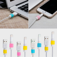 Lighting USB Charger Cable Saver Protector for Apple For iPhone 5 5s 6 Plus new arrival