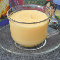 Harry Potter - Butterbeer tea cup candle from Madam Rosmerta