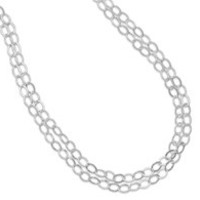 100in Open Link Cable Necklace
