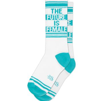 The Future Is Female -- Socks