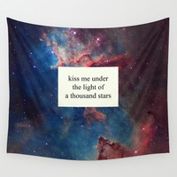 a thousand stars Wall Tapestry by Tangerine-Tane