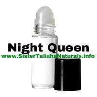 Night Queen all natural fragrance perfume for women girls sensual scent free shipping non irritating