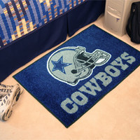 "NFL - Dallas Cowboys Starter Rug 19""""x30"""""