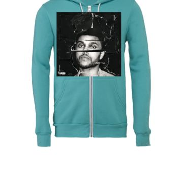 beauty behind the madness the weeknd tshirt - Unisex Full-Zip Hooded Sweatshirt