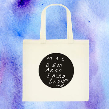 Mac Demarco Canvas Tote Bag Style Two