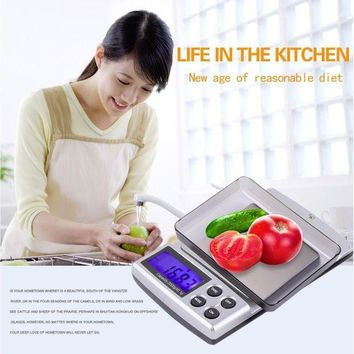 ICIKGQ8 hot new holiday sale 2000g x 0 1g pocket electronic digital jewelry scales weighing kitchen scales balance hot new