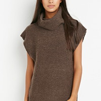 Contemporary Cowl Neck Tunic Sweater | Forever 21 - 2000154035