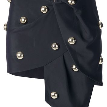 Anthony Vaccarello Asymmetric Miniskirt
