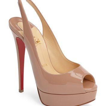 Christian Louboutin Lady Slingback Pump (Women) | Nordstrom