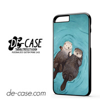 Otterly Romantic Otters Holding Hands DEAL-8318 Apple Phonecase Cover For Iphone 6 / 6S