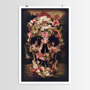 Ali Gulec's Jungle Skull POSTER