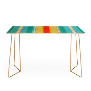 Sharon Turner deckchair stripe Desk