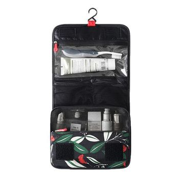 CREYON5U Travel Excellent quality Hanger Toiletry Bag Large Capacity cosmetic organizer Multifunctional Hanging Wash Bag