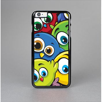The Big-Eyed Highlighted Cartoon Birds Skin-Sert for the Apple iPhone 6 Plus Skin-Sert Case