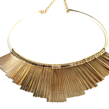 """Lay Me Down"" Gold Necklace"
