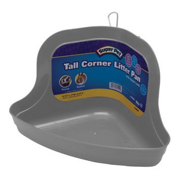 Litter Pan Tall Corner W/Lock