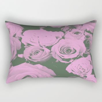 Mother May I Rectangular Pillow by Ducky B