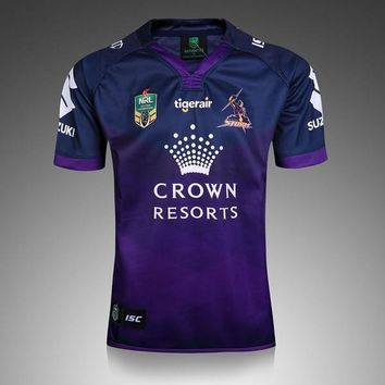 2017 Melbourne storm rugby jerseys home Storm rugby shirts Men shirts 16 17 top quality shirts