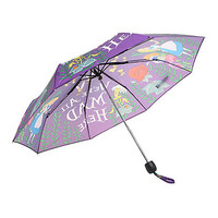 Disney Alice In Wonderland We're All Mad Here Compact Umbrella