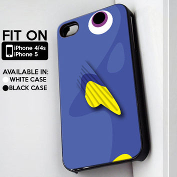 Dory The Fish - iPhone 4/4s or iPhone 5 Case - Black or White
