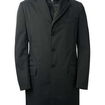 Fay double neck coat