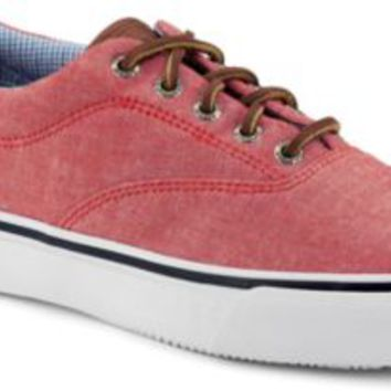 Sperry Top-Sider Striper CVO Chambray Sneaker RedChambray, Size 9M  Men's Shoes