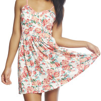 Cute Floral Tank Dress | Wet Seal