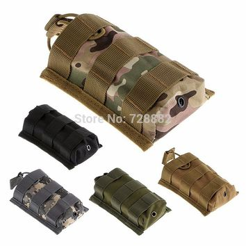 Tactical Military MOLLE Open Top Mag Pouch M4/M16 5.56.223 Ammo Magazine Pouch Cartridge Clip Bag
