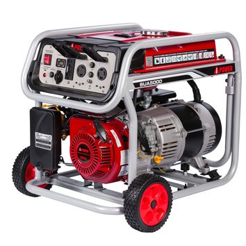 A-iPower SUA5000 5,000-Watt Gasoline Powered Manual Start Generator