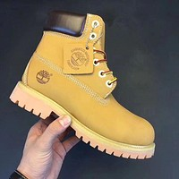 Timberland Rhubarb boots for men and women fashion shoes G