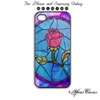 Rose,Beauty and Beast,iPhone 5 case,iPhone 5C,iPhone 5S,Samsung Galaxy S3, Samsung Galaxy S4 Phone case,iPhone 4 Case, iPhone 4S Case