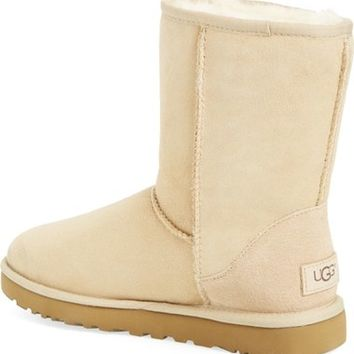 UGG® 'Classic II' Genuine Shearling Lined Short Boot (Women)   Nordstrom