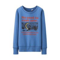 WOMEN Moomin Long Sleeve Sweat Pullover