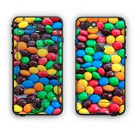 The Colorful Candy Apple iPhone 6 LifeProof Nuud Case Skin Set
