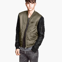 Padded Pilot Jacket - from H&M
