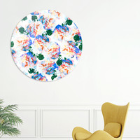 «Wild Flora», Limited Edition Disk Print by Uma Gokhale - From $99 - Curioos