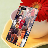 Jack Gilinsky Face Magcon Boys print on cover for iPhone 4/4S , 5/5S/5C cases.