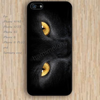 iPhone 5s 6 case cat  eyes pattern dream phone case iphone case,ipod case,samsung galaxy case available plastic rubber case waterproof B724
