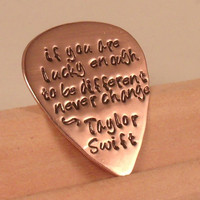Taylor Swift Guitar Pick by KMADiSONKOUTURE on Etsy