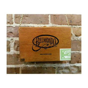 Vintage Belmondo Cigar Box purse