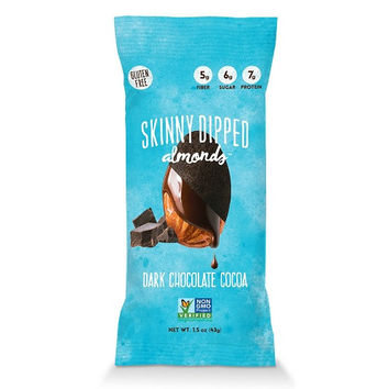 Wild Things Mini Skinny Dipped Almonds in Dark Chocolate Cocoa  -48x0.46 OZ-