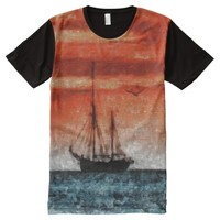 Ghost Ship All-Over Print T-Shirt