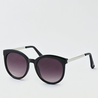 AEO Oversized Cat Eye Sunglasses, Black
