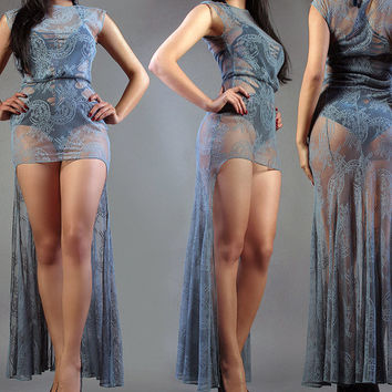 Transparent Lace Dress - Limited edition
